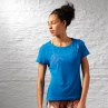 Koszulka Reebok Work Out Ready Slub textured Tee AJ3418